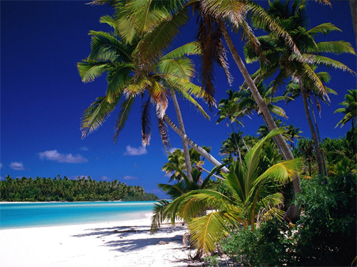 Aitutaki Lagoon, Cook Islands