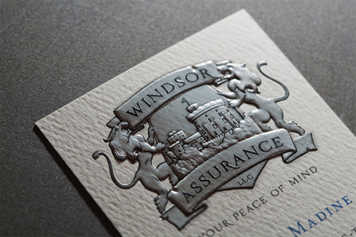 Windsor Assurance LLC business card