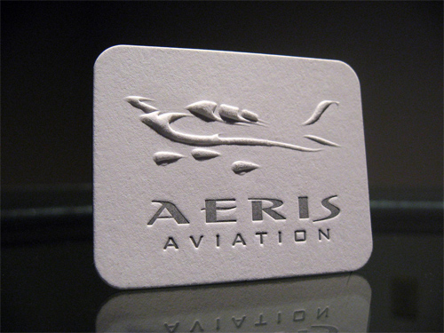 Aeris Aviation Embossed