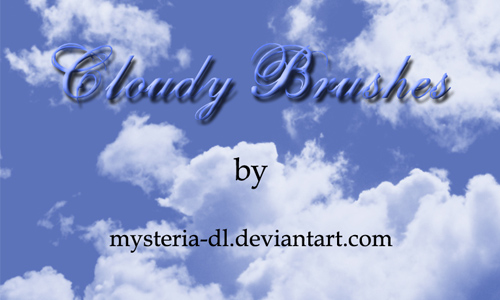 Cloudy-Brushes