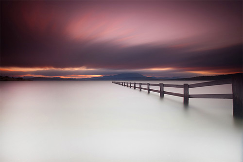 Mortimer Bay long exposure photography