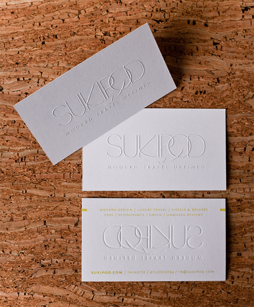 sukipod business cards