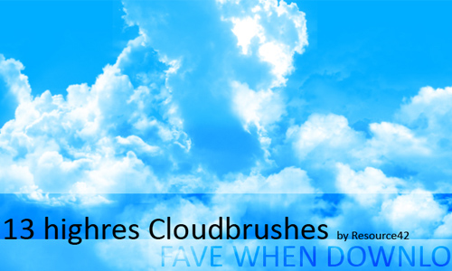 13 Cloudbrushes