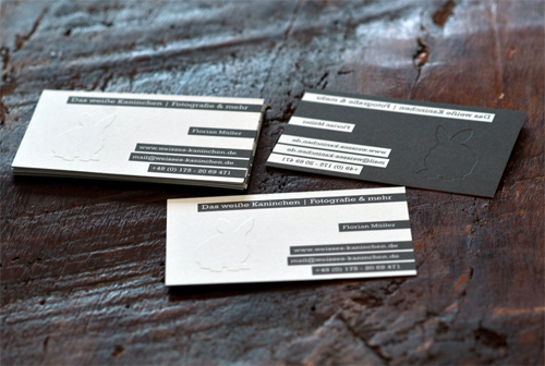 Business Card White Rabbit