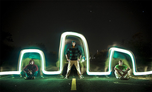 Light Graffiti Compilation long exposure photography