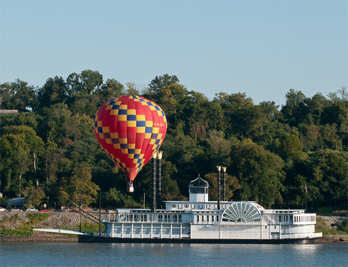 By Boat or Balloon