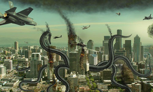 Photo Manipulation on Alien Invasion Tutorial