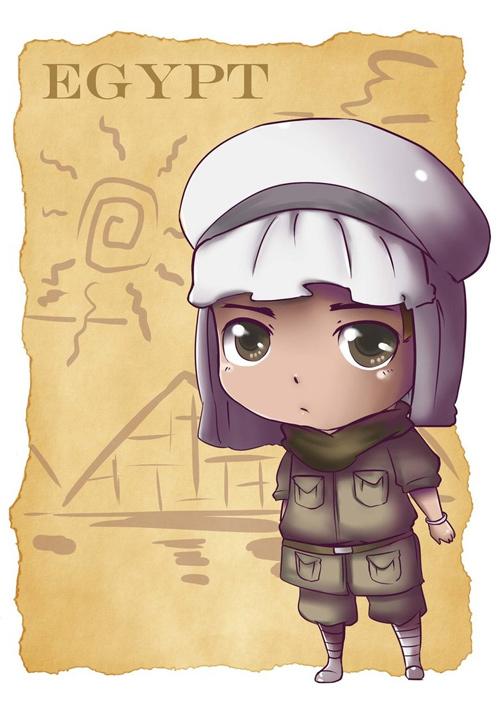 chibi egypt
