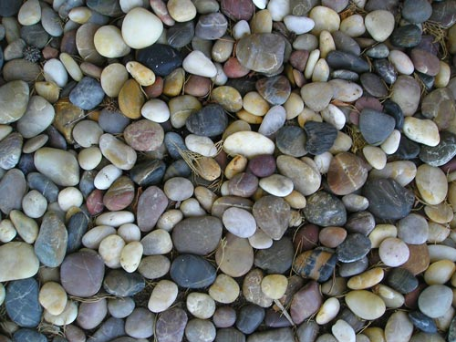 Eye-Refreshing Pebble Texture