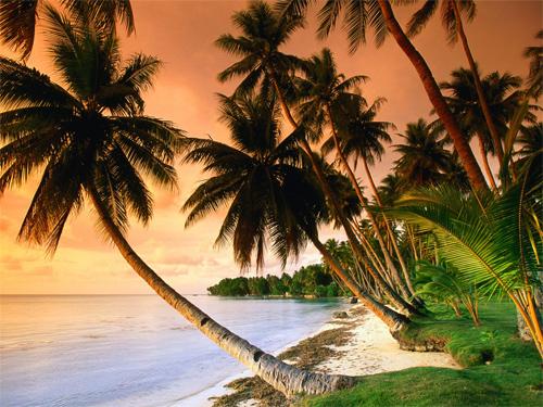 Blue Lagoon Resort Beach, Micronesia