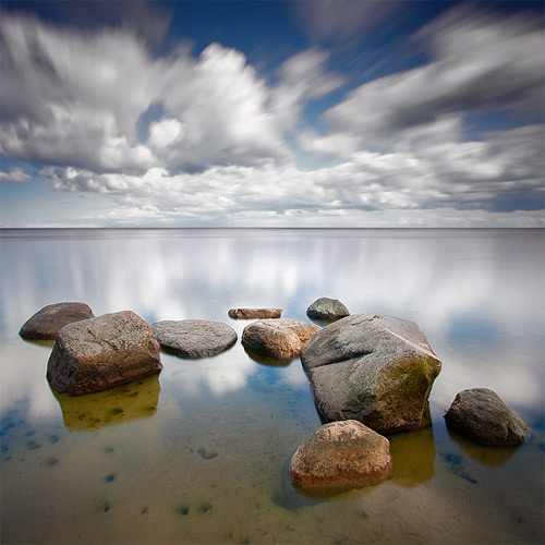 Baltic Sea, 2009 long exposure photography