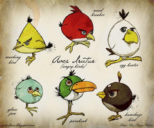 genus aves iratus angry birds