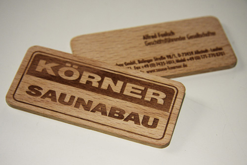 Business Card for: Korner Saunabau