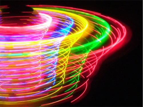 colour exposure. long exposure photography