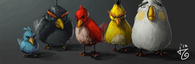 A Showcase of Angry Birds Inspired Artworks