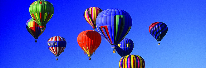 Magnificent Photos of Multicolored Hot Air Balloons
