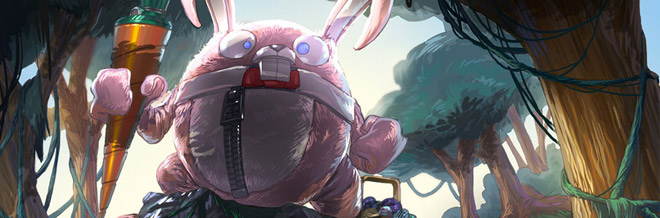 Easter Bunny and Egg Inspired Artworks