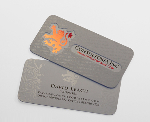 Double-Thick Silk Business Card