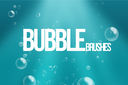 bubble brush photoshop