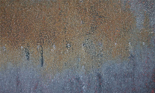 Rusted Metal Texture in Mist