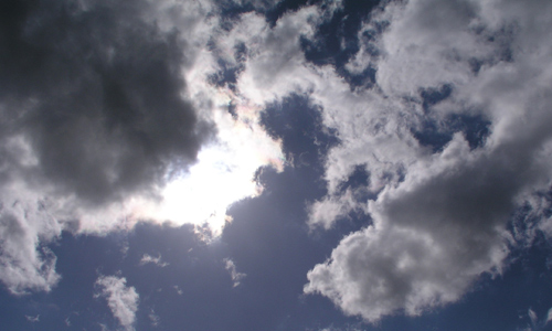 Peeky Sun Cloud Texture