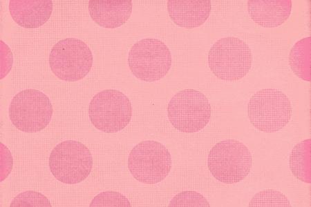 Pink Polka Dots Stock