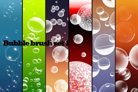 Bubble brush set 1