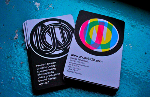 Unoestudio Unique Business Card