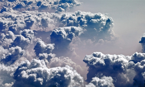 Heavenly Cloud Texture