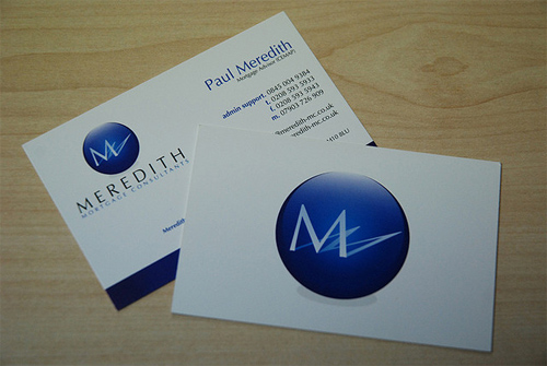 Mortgage Consultancy Business Card