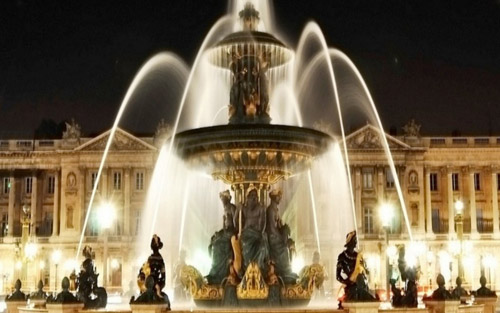 Majestic Paris Fountain WP