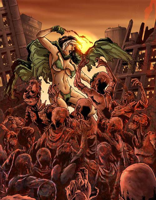 rogue vs zombies