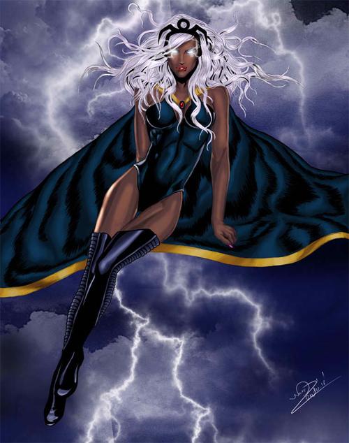 storm goddes of weather