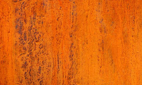Perfectly Smooth Rusted Metal Texture