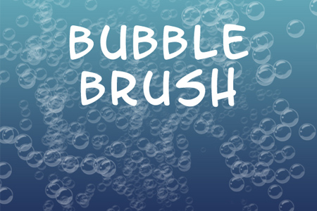 Bubble Brush for Photoshop