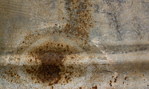 Rust in Place for Metal Texture