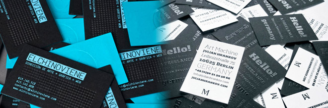 A Showcase of Cost-effective Double-Sided Business Cards