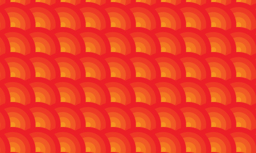 Refereshing Orange Pattern