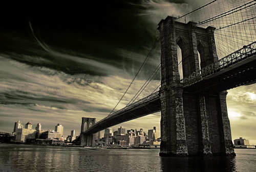 Cool Brookly Bridge Photo
