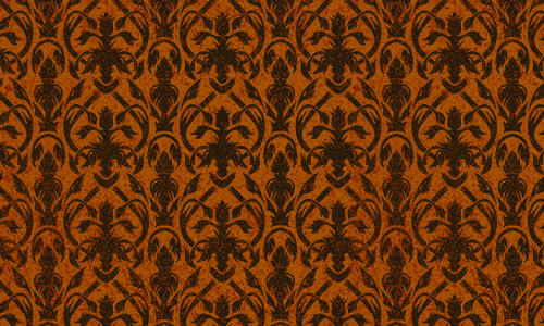 Yummy Pumpkin Orange Pattern