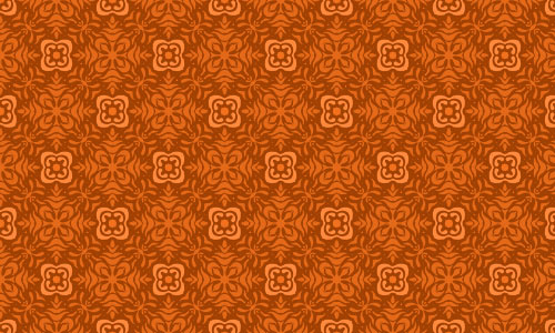 Attractive Orange Pattern