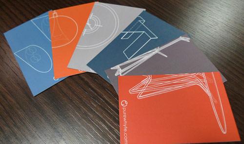 Simple But So Nice Orange Business Card