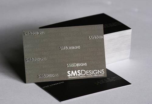 SMS Designs Card