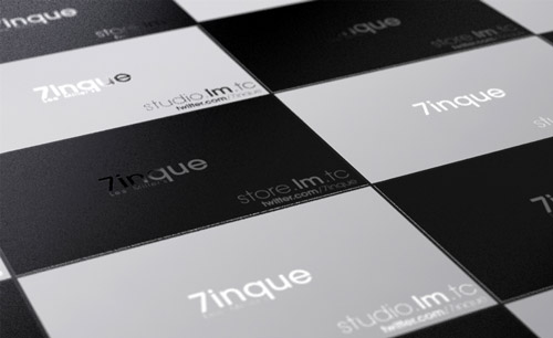 Appealing B&W Business Card