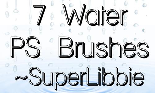 water PS brush