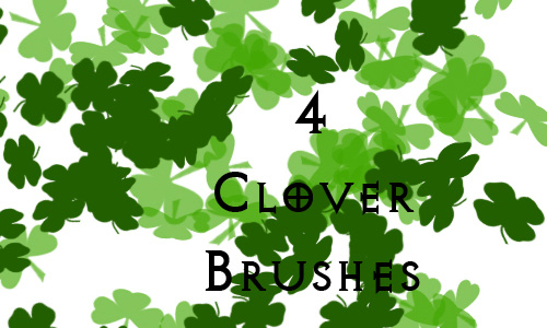 Simply Attractive Set of Clover Brushes