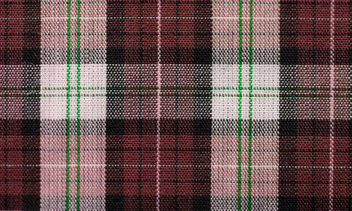 Darker Shaded Plaid Fabric Texture