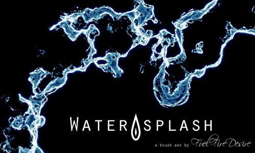 splash Brush waters