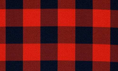 Smooth Plaid Fabric Texture