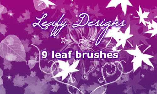 Making it Leafy Leaf Brush Set